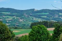 Landschaft in Steiermark, Österreich Lizenzfreies Stockbild