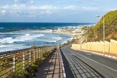 Landschaft - steigen Sie zum Strand ab Stockfotografie