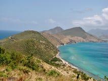 Landschaft Str.-Kitts Lizenzfreie Stockbilder