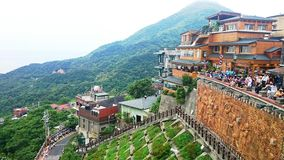 Landschaft Taiwans Jiufen Stockfoto