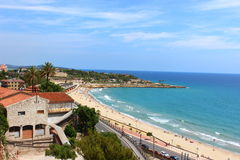 Landschaft Tarragona Stockfoto