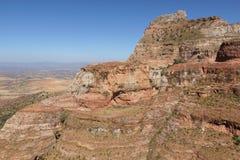 Landschaft, Tigray, Äthiopien, Afrika Lizenzfreies Stockfoto