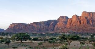 Landschaft in Tigray-Provinz, Äthiopien Stockfotografie