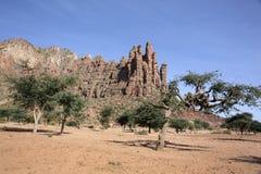 Landschaft in Tigray-Provinz, Äthiopien Lizenzfreie Stockbilder