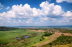 Landschaft in Tihany in See Balaton, Ungarn Stockbilder