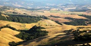 Landschaft in Toskana Lizenzfreies Stockfoto