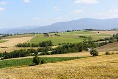 Landschaft in Toskana lizenzfreie stockfotos