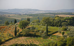 Landschaft Toskana lizenzfreie stockfotos