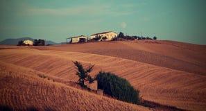 Landschaft, Toskana Val D'Orcia Stockfotografie
