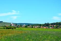Landschaft in Transylvanien Stockfotos