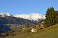Landschaft in Trentino stockfoto