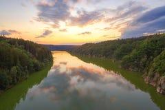 Landschaft, Tschechische Republik stockfotografie