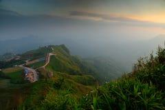 Landschaft Tubberk Thailand Stockbild