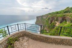 Landschaft in Uluwatu-Tempel Bali Indonesien Lizenzfreies Stockbild