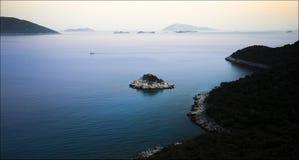 Landschaft um Kas, die Türkei Lizenzfreies Stockbild