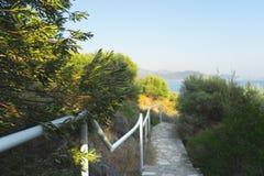 Landschaft um Kas, die Türkei Stockbild