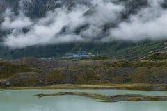 Landschaft um Mt Nationalpark des Kochs/Aoraki, Neuseeland Lizenzfreie Stockbilder