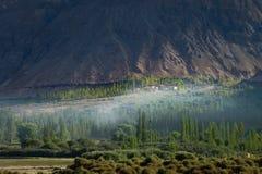 Landschaft um Nubra-Tal in Ladakh, Indien Stockbild