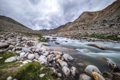 Landschaft um Nubra-Tal in Ladakh, Indien Stockfotografie