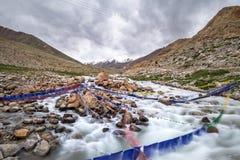 Landschaft um Nubra-Tal in Ladakh, Indien Stockfoto