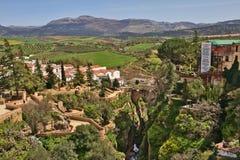 Landschaft um Ronda andalusia stockfotografie