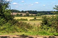 Landschaft um Sissinghurst Stockbilder