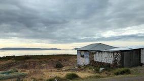 Landschaft um Titicaca-See bei Puno, Peru Lizenzfreie Stockfotografie