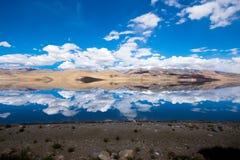 Landschaft um Tso Moriri See in Ladakh, Indien Lizenzfreies Stockfoto