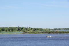 Landschaft in Velikiy Novgorod Lizenzfreie Stockfotos