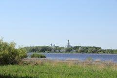 Landschaft in Velikiy Novgorod stockbilder
