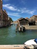 Landschaft in Venedig, Italien stockfotografie