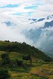 Landschaft in Vietnam Stockfoto