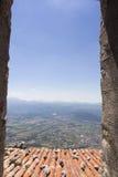 Landschaft-Viggiano-Dach Stockbilder
