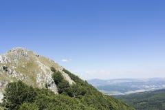 Landschaft-Viggiano-Felsen Stockfotos