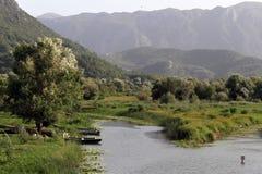 Landschaft in Virpazar Lizenzfreie Stockbilder