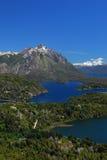 Landschaft vom bariloche, Argentinien Lizenzfreies Stockfoto