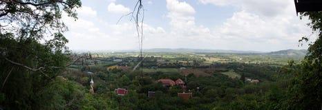 Landschaft vom Berg Stockbild