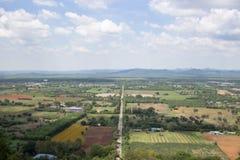 Landschaft vom Berg Lizenzfreie Stockfotos