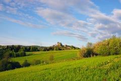 Landschaft vom Schloss Stockfotos