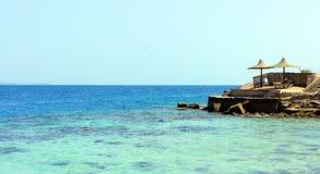 Landschaft vom Strand Lizenzfreies Stockbild