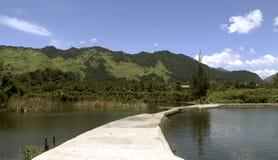Landschaft von Aceh Stockfotografie