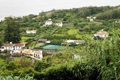 Landschaft von Aguade Pau Lizenzfreies Stockbild