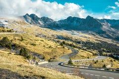 Landschaft von Andorra Lizenzfreie Stockfotos