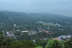 Landschaft von Assam Lizenzfreies Stockfoto