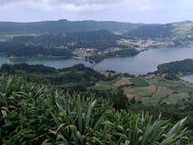 Landschaft von Azoren lizenzfreies stockfoto