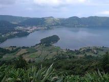 Landschaft von Azoren lizenzfreie stockfotos