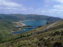 Landschaft von Azoren lizenzfreie stockfotografie