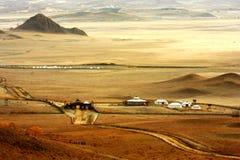 Landschaft von Bashang-Wiesen Stockfotografie