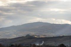 Landschaft von Basilikata-Landschaft Lizenzfreie Stockfotos