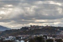 Landschaft von Basilikata-Landschaft Stockbilder